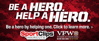 Sport Clips Haircuts of Springfield - Bechtle Square ​ Help a Hero Campaign